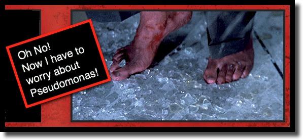 DIe Hard Glass in Feet