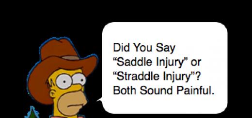 Straddle Injury