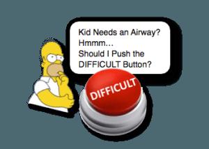 Pediatric Difficult Airway