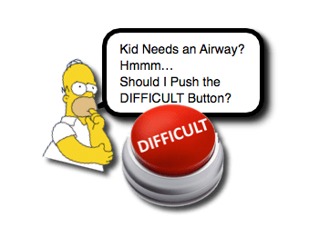 Pediatric Difficult Airway