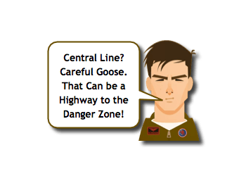 Central Line and Fever