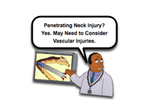 Penetrating Neck Injury