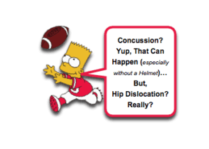Pediatric Traumatic Hip Dislocation