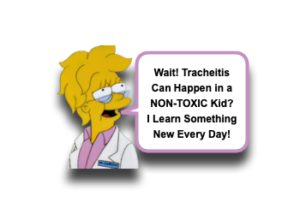 Tracheitis in Pediatric Patients