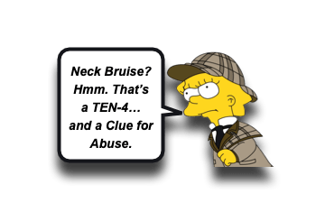 Sentinel Bruising and Abusive Injury