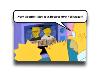 Seatbelt Sign and Blunt Cerebrovascular Injury