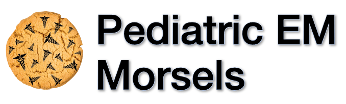 Pediatric EM Morsels LOGO Mobile