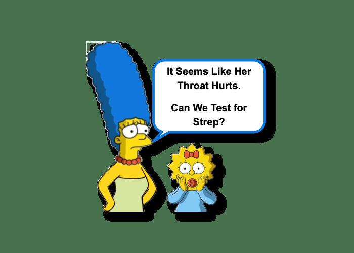 Strep Pharyngitis Testing in Toddlers